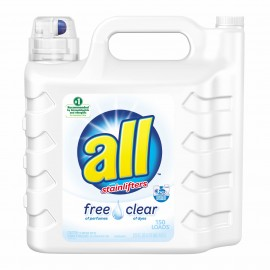 all Stainlifter Free Clear Liquid Laundry detergent, 225 fl. oz.