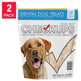 CheckUps Dental Dog Treats...
