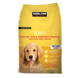 Kirkland Signature Puppy Formula Chicken, Rice and Vegetable Dog Food 20 lbs