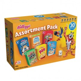 Kellogg's Cereal, Jumbo Assortment, 1.05 oz, 30-count