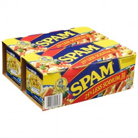 Hormel Spam 25% Less Sodium...