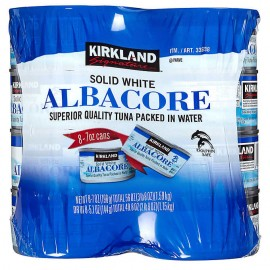 Kirkland Signature White Albacore Tuna 7 oz, 8-count