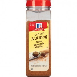 McCormick Ground Nutmeg, 16 oz