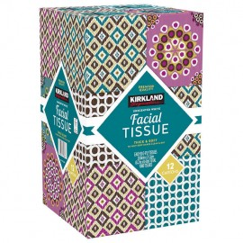 Kirkland Signature Facial Tissue 12-pack