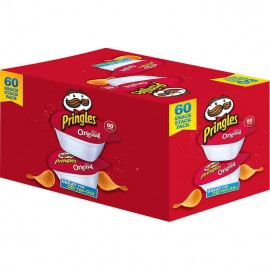 Pringles Original Potato Chip Snack Packs 0.67 oz, 60-count