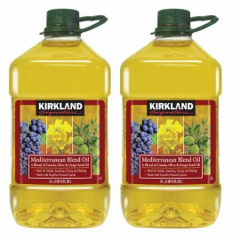 Kirkland Signature Mediterranean Blend Oil 3L, 2-pack