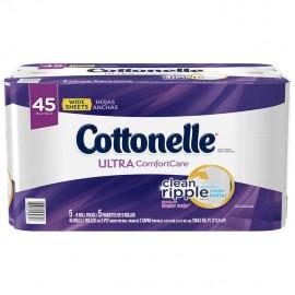 Cottonelle Ultra Comfort Jumbo Roll Toilet Paper, 45 Rolls