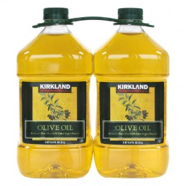 Kirkland Signature Pure Olive Oil 3 Liter, 2-count