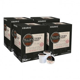 Tully's French Roast Coffee...