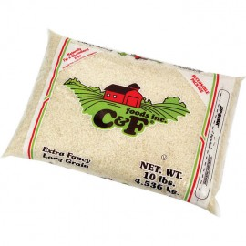 C & F Long Grain Rice, 10 lbs