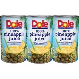 Dole 100% Pineapple Juice,...