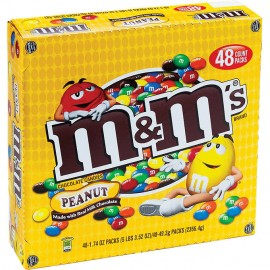M&M's, Peanut, 1.74 oz,...
