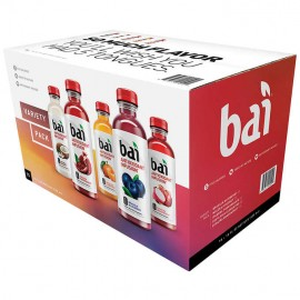 Bai Antioxidant Infusion, Sunrise Variety Pack, 18 fl oz, 15-count