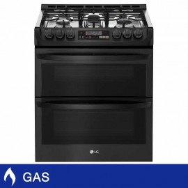 LG 6.9CuFt GAS Double Oven...